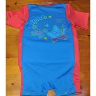 Speedo sea squad float suit 兒童浮力連身泳衣