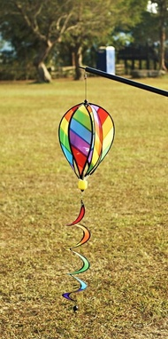 【露營趣】嘉隆 ZC-001 熱氣球風旗 裝飾 戶外露營 居家