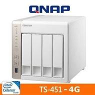 QNAP TS-451-4G 網路儲存伺服器