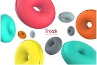【保固一年 】特洛克/TROZK 甜甜圈 智能移動插座 旅行 多功能 USB 充電器 插座排旅行 創意 插排