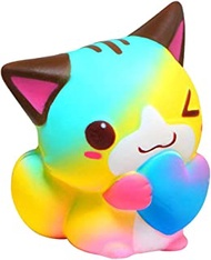 Soft simulation Squishies, Slow Rising Squishy Toys Squeeze Toy Stress Relief Squishes kawaii squishy for child squeeze animals squish squishies squishy cat Magic Artifact