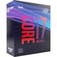 INTEL 英特爾 I7 9700KF CPU 處理器 第9代 1151腳位 8核/8緒 無內顯