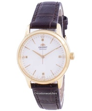 Orient Contemporary Automatic Women's Brown Leather Strap Watch RA-NB0104S10B