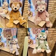 預購 上海迪士尼樂園🐻達菲家族 達菲熊 雪莉玫 畫家貓 史黛拉 S號 M號 玩偶 娃娃