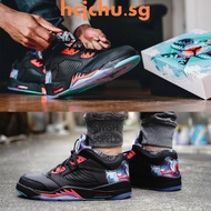 [hcjchu.sg]Air Jordan 5 Retro Low CNY Chinese Kite Men's Basketbal