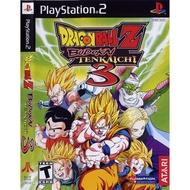 แผ่นเกมส์ PS2 - Dragon Ball Z Budokai Tenkaichi 3 PS2 Playstation2 #เกมสุดมันส์ #เกมยุค90