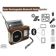 RD-098/097UBT-S  FM/AM/MP3/BLUETOOTH Solar Radio with LED light