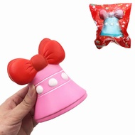 SquishyFun Jingle Bell Squishy Jumbo 12cm Christmas Gift Decor Collection Slow Rising With Packaging Toy