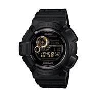 【CASIO 卡西歐 G-SHOCK 系列】溫度/月相/方位/太陽能運動錶(G-9300GB 黑金)