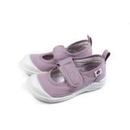 MoonStar 室內鞋 娃娃鞋 魔鬼氈 紫色 童鞋 MSCN027 no428