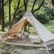Naturehike 朗 輕奢風戶外4-6人棉布金字塔帳篷6.4 Glamping系列