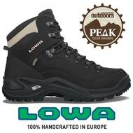 【LOWA 德國】Renegade GTX 標準版高筒防水登山鞋 男款 黑灰色 (LW310945-9995)