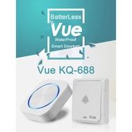 [SG version 3 Pin plug] Vue Doorbell Wireless Doorbell / Self-power Doorbell / NO NEED BATTERY