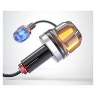 野狼GTR摩托車改裝CUXI手把塞BWS碳纖維握套油門勁戰光陽KYMCO平衡端子悍將