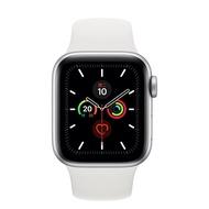 現貨 Apple Watch Series 5 GPS (40mm) 銀色鋁金屬錶殼 搭配 白色運動型錶帶