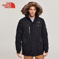 The North Face 北面男款黑色防水保暖羽絨外套 3L71JK3