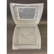 Lunch Box [ 50pcs± ] BENXON BX-290 - Disposable PP Plastic Food Box - Chicken Chop Box - BX 290