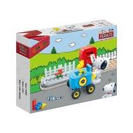 【Fun心玩】NO.7511 BanBao 邦寶積木 SNOOPY 史努比系列 快樂小郵差(樂高Lego通用) 積木
