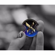 宥佳車業  鯊魚工廠 X2 LOGO 避震器正鈦貼片