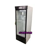 《利通餐飲設備》台灣製 500L 瑞興單門冷藏玻璃冰箱 1門展示冰箱~