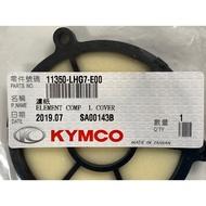 KYMCO 光陽正廠 LHG7 濾紙 左曲軸箱蓋濾棉/平面圓形 DINK 300i G-DINK II