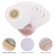 outlet Cofoe 10 PCS One-piece System Ostomy Bag Drainable Colostomy Bag Pouch Ostomy Stoma 60mm Cut Size Beige Cover Urine bag