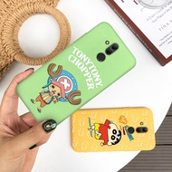 Cartoon One Piece Patterned Silicone Case For OPPO R9S R11 F1 F3 Plus R11S R15 R17 Pro Soft TPU Cover