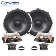 6.5 Inch 3-way Car Sound System Tweeter Midrange Bass Full Frequency Component Car Speakers Audio Set Subwoofer for Car Auto
