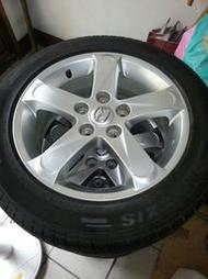 馬自達MAZDA5 原廠鋁圈 瑪吉斯2011胎皮 新車拆落地9成新 16吋 鋁圈含胎 205.55.16
