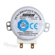 LILY* AC 220-240V 4W 6RPM 48mm Synchronous Motor for Air Blower 50/60Hz TYJ50-8A7 Tray