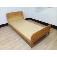 【土城二手市集】加厚型 類IKEA 3.5尺單人床架加大 實木單人床 原木床架 3尺半床架 兒童床架 嬰兒床 單人加大