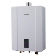 (全省標準安裝) 林內16公升數位恆溫強制排氣屋內熱水器RUA-C1600WF