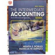 AUTHENTIC THE INTERMEDIATE ACCOUNTING SERIES VOLUME 3 2021 edition by Robles and Empleo (w/Signature