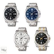 [ใส่โค้ดลดเพิ่ม*] ของแท้ นาฬิกาข้อมือ Casio ผู้ชาย รุ่น MTP-1314 (สายสแตนเลส)
