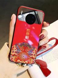 中國風玻璃鏡面華為手機殼mate10女p30防摔p20化妝鏡子mate30外殼mate20保護套prop10plus