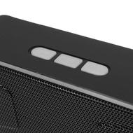 Bluetooth V3.0 Portable Wireless Speaker USB Flash FM Radio Stereo Horns 5 Color Grey - intl