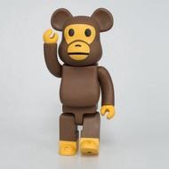28cm Cute BEARBRICK Orangutan Action Figures Hobby Toy