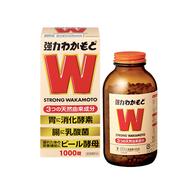 WAKAMOTO / 若元製藥 WAKAMOTO若元胃腸錠(棕色包裝) 1000錠