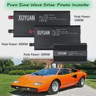 Solar Power Inverter Pure Sine Waveอินเวอร์เตอร์3000/4000/5000W DC 12/24V To AC 220Vรถอินเวอร์เตอร์แรงดันไฟฟ้าCharger Converter