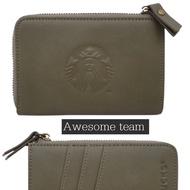 現貨 星巴克 Starbucks 復古綠女神證件零錢包