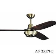 工業風系列/ 52吋 吊扇 風扇 古銅/尊爵黑// 永光照明AS-25171C/AS-25173C