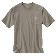 CARHARTT - K87 DES 美線 Pocket Tee 口袋 短T 素T (沙色 DES) 化學原宿