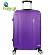 Romar Polo กระเป๋าเดินทาง 24 นิ้ว ABS 4 ล้อ 360° Polo224-6 (Violet)