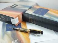 【世界名筆交流】萬寶龍1996年文學家系列大仲馬限量原子筆 *全新盒單全*
