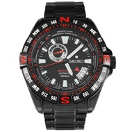 Seiko 5 SSA113J1 SSA113J SSA113 Sports Limited Edition Black Dial Stainless Steel Analog Round Automatic 100M Men's Watch