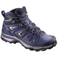 X Ultra 3 Wide Mid Gtx女款寬楦中筒登山鞋 藍 salomon 法國401296