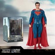 จัสติสลีกแบทแมนซูเปอร์แมนวันเดอร์วูแมนแฟลช Cyborg Aquaman Figure ของเล่น Immovable ของขวัญ18ซม