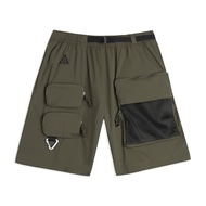 Kumo shoes-Nike ACG Cargo Shorts  機能工裝 口袋短褲 橄欖綠 CK7856-326