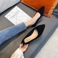 รองเท้าคัชชูผู้หญิง รองเท้าเสริมส้น รองเท้าคัชชู GM043 รองเท้าทำงานหญิง รองเท้าแฟชั่นผู้หญิง