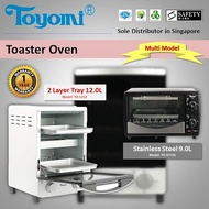 TOYOMI Toaster oven 9.0L / 12.0L [Model: TO944 / TO977SS / TO1212] [3 Model]-